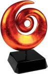 Orange Art Sculpture Award Artistic Awards