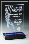 Blue Wave Collection Colored Acrylic Awards
