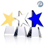 Meteor Star Award Crystal Glass Awards