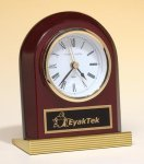 Rosewood Piano Finish Clock Desk Clocks