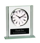 Square Glass Desk Clock Desk Clocks