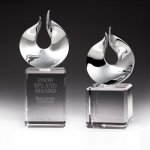 Solid Flame Crystal Award Flame Awards