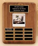 American Walnut Photo Perpetual Plaque Perpetual Plaques