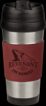 Stainless Steel Mug Wtih Rose' Leatherette Grip Promotional Mugs