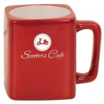 Ceramic Square Mug Promotional Mugs